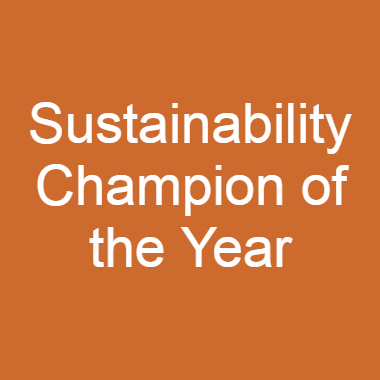 Sustainability Champion of the Year
